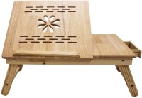 View Sterling Solid Wood Portable Laptop Table(Finish Color - Brown) Price Online(Sterling)