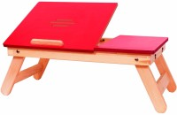 View Xudo Solid Wood Portable Laptop Table(Finish Color - Red) Furniture (Xudo)