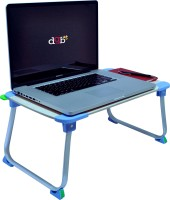 View DGB Dime U2 Multi functional Table (Blue) Cooling Pad(Light Wood) Laptop Accessories Price Online(DGB)