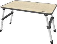 Gizga Solid Wood Portable Laptop Table(Finish Color - Brown)