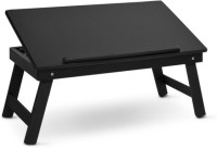 View Colorwood Solid Wood Portable Laptop Table(Finish Color - Black) Price Online(Colorwood)