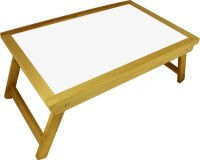 View Chrome Engineered Wood Portable Laptop Table(Finish Color - Natural Wood) Furniture
