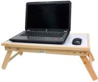 View Ekta Solid Wood Portable Laptop Table(Finish Color - CREAM WHITE) Price Online(Ekta)