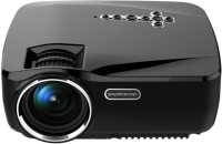woxan 1200 lm LCD Corded Portable Projector(Black)