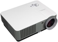 MDI RD801-A Android & Wifi 2000 lm LED Corded Mobiles Portable Projector(White)