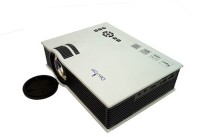Devizer 1000 lm LED Corded Portable Projector(White)