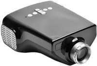 JSWE 2100 lm LED Corded & Cordless Portable Projector(Black)