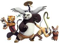 Kung Fu Panda Cartoon Poster Paper Print(12 inch X 18 inch, Rolled)