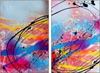 PixTopper diptych 24 Canvas Art(60 inch X 40 inch)