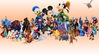 Disney Family Cartoon Poster Paper Print(12 inch X 18 inch, Rolled)