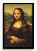 Seven Rays Mona Lisa by Leonardo da Vinci Framed (Small)(19 inch X 13 inch)