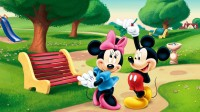 Disney Mikki Mouse Cartoon Poster Paper Print(12 inch X 18 inch, Rolled)