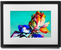 Shaildha's Water Colour Painting Print of Beautiful Vibrant Flower Fine Art Print(9 inch X 11 inch)
