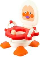 Kiddies Express Panda Duck Baby Traning Potty Seat(Red)