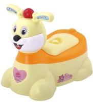 A+B Rabbit Shaped Baby Potty Seat(Yellow/Orange)