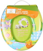 Ole Baby Jumbo the Lion With His Jungle Friends, Padded, Soft, and Durable,Full Cushion Assorted Potty Seat(Green)