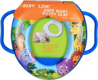 Ole Baby Lion and his Animal Friends Padded, Soft, and Durable,Full Cushion Assorted Trainer With Handle Potty Seat(Multicolor)
