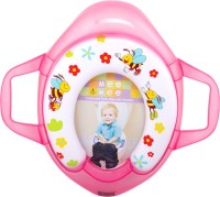 MeeMee Soft Cushioned Potty Seat with Support Handles Potty Seat(Pink)