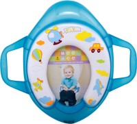 MeeMee Soft Cushioned Potty Seat with Support Handles Potty Seat(Blue)
