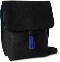 Creative India Exports Women Black Wallet Sling Bag Pouch(Black)