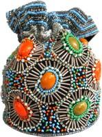 KAWAII Multi-Colored acrylic stone Beaded Potli