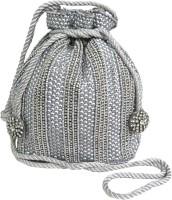 KAWAII Grey Sequins Diamante Potli