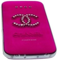 Shrih 8800 mAh Power Bank (SHR-9170, Crystal Ultra Thin Mirror )(Rose Red, Lithium-ion)