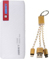 View Orbatt X8 Fast Charging  with 2in1 Small  Cable 13000 mAh Power Bank(Red, White, Golden, Lithium-ion) Laptop Accessories Price Online(Orbatt)