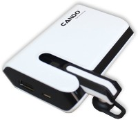 View Cando S007 Powerbank + Bluetooth Headset 6000 mAh Power Bank(White, Lithium-ion) Laptop Accessories Price Online(Cando)