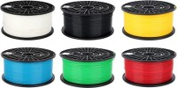 COLIDO Printer Filament(Red, Black, Yellow, White, Green, Blue)