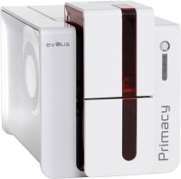 Evolis Primacy_id_card Single Function Printer(White, Red)