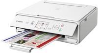 Canon PIXMA TS5070 Multi-function Wireless Printer(White, Ink Cartridge)