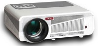 PLAY Full HD LED 5500 lm LED Corded Portable Projector(White, Grey)