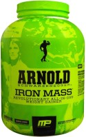 MusclePharm Arnold Schwarzenegger Series Iron - 5 Lbs Weight Gainers/Mass Gainers(2.27 kg, Banana, C