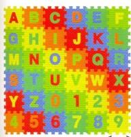 Kiddy 26Pcs Alphabet (A-Z) & 10Pcs Numbers (0-9) Puzzle Mat PMS-9014(36 Pieces)