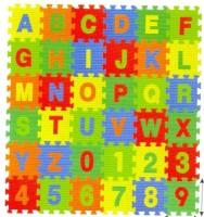 Kiddy 26Pcs Alphabet (A-Z) & 10Pcs Numbers (0-9) Puzzle Mat PMS-9011(36 Pieces)