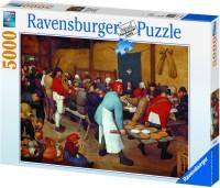 RAVENSBURGER Bruegel Farm Wedding(5000 Pieces)