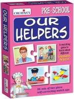 Creative Educational Aids Our Helpers(48 Pieces)