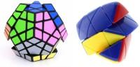 Montez Shengshou Master Pyramorphix & Megaminx Puzzle Speed Cube - Combo(2 Pieces)