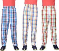 Belmarsh Mens Checkered Pyjama(Pack of 3)