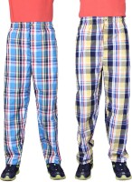 Belmarsh Men's Checkered Pyjama(Pack of 2)