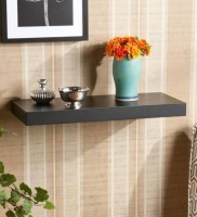 View Wooden Art &Toys MDF Wall Shelf(Number of Shelves - 1, Black) Furniture (Wooden Art & Toys)