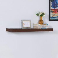 View DriftingWood Floating Storage Wooden Wall Shelf(Number of Shelves - 1, Brown) Furniture (DriftingWood)