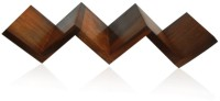 View Zuniq Wooden(Sheesham) Wall Mount Bookshelf Wooden Wall Shelf(Number of Shelves - 3, Brown) Price Online(Zuniq)