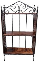 View Artesia Wooden Wall Shelf(Number of Shelves - 1, Brown) Furniture (Artesia)