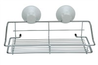 Home Creations Storage Stainless Steel Wall Shelf(Number of Shelves - 1, White)