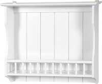 View The Attic Wooden Wall Shelf(Number of Shelves - 1, White) Furniture (The Attic)