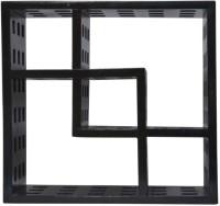 View Mojopanda MP417 Wooden Wall Shelf(Number of Shelves - 1, Black) Price Online(Mojopanda)