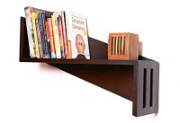 View Kohinoor Wooden Wall Shelf(Number of Shelves - 1, Brown) Furniture (Kohinoor)