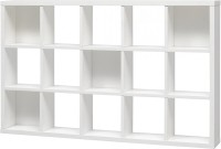 View The Attic Wooden Wall Shelf(Number of Shelves - 15, White) Furniture (The Attic)